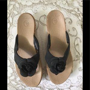 Pretty Crocs sandals